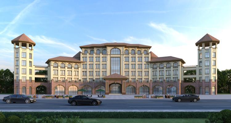 欧式西班牙风格酒店