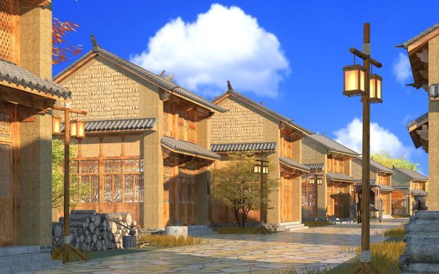 中式传统民居
