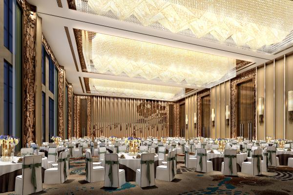 现代轻奢酒店宴会厅