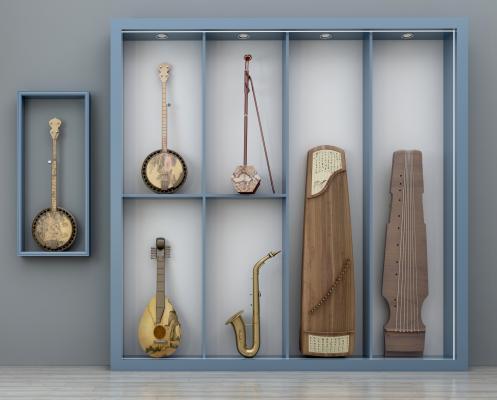 新中式乐器组合 古筝琵琶萨克斯胡琴二胡