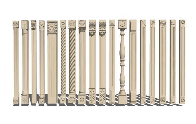 欧式罗马柱子组合