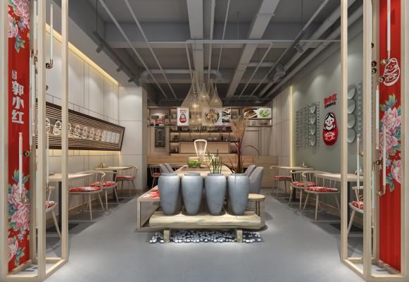 工业风主题餐厅