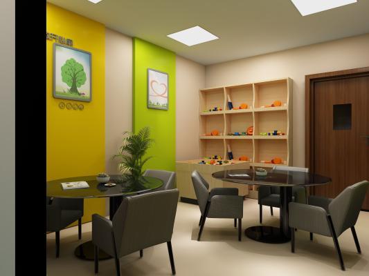 现代心理咨询室