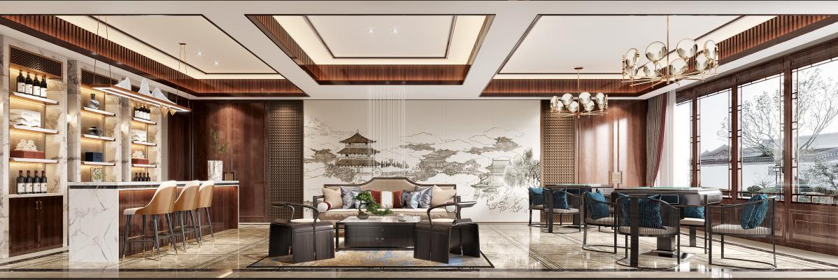 新中式高级会所