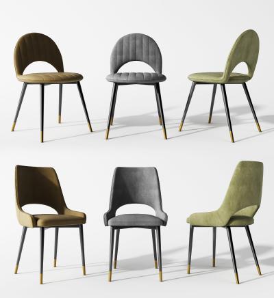 现代餐椅组合