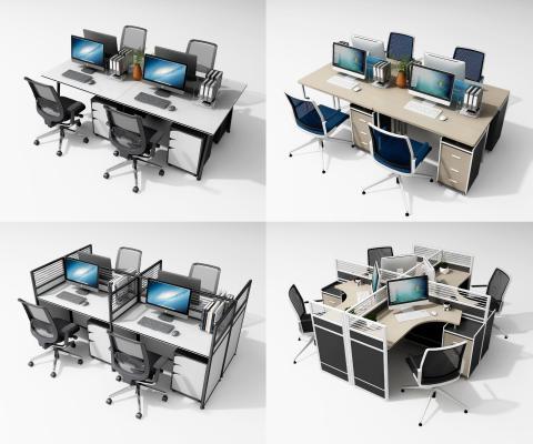 现代办公桌椅 办公桌