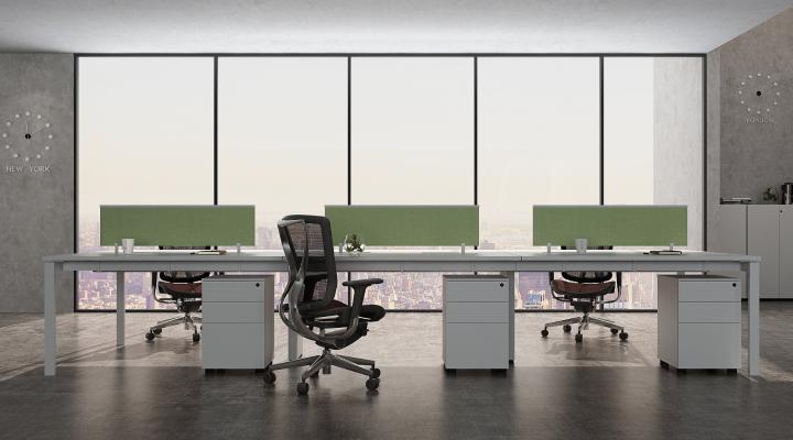 現代開放辦公區
