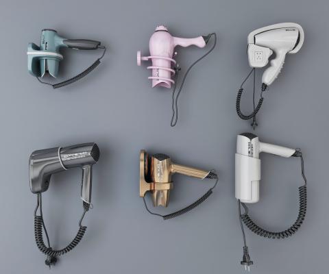 现代风格日用电器 吹风机