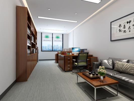 新中式标准办公室
