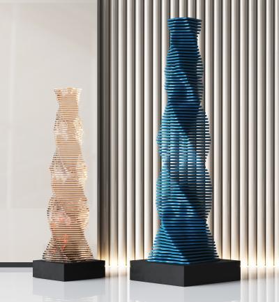 现代玻璃异形摆件,装饰品,创意物件,装饰摆件