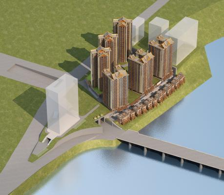 东南亚鸟瞰规划