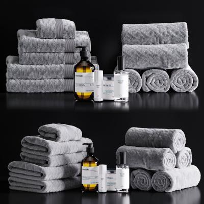 现代毛巾洗涤用品