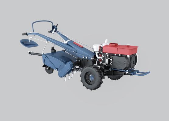现代手扶拖拉机 农具