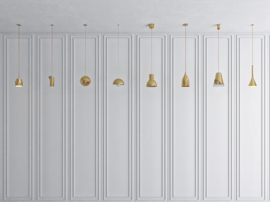 現代簡約床頭小吊燈