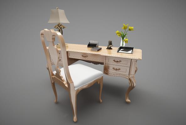 欧式风格书桌