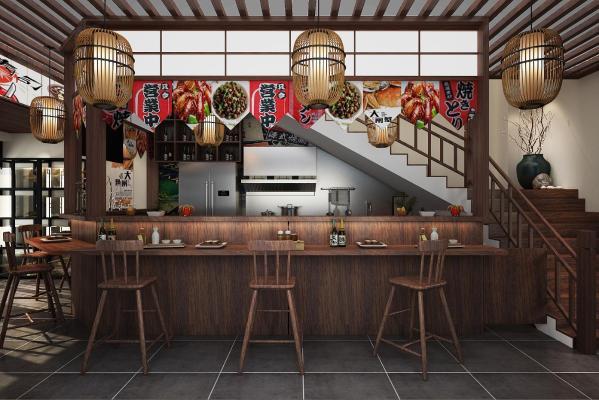 日式料理店 烧烤店 餐厅 餐馆