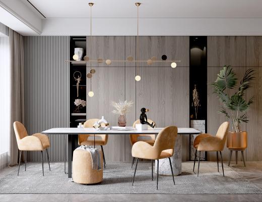 现代餐厅 吊灯