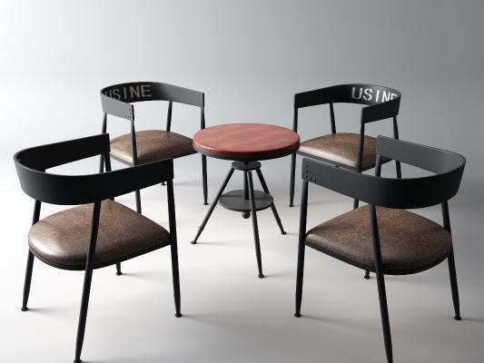 工業風咖啡桌