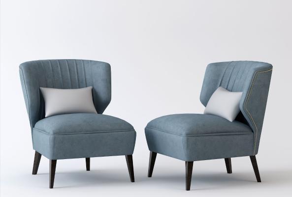 现代简约单人沙发