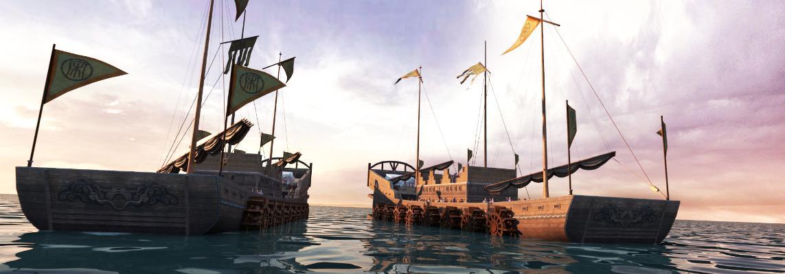 中式舰船 战船
