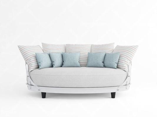 意大利MERITALIA现代双人沙发