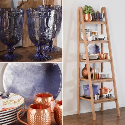 现代风格装饰柜架 厨房置物架