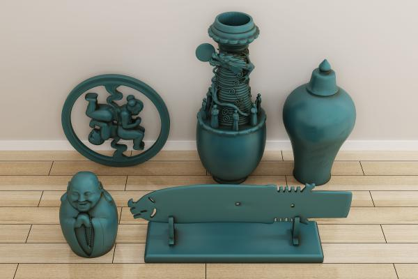 传统中式工艺品 装饰品 摆件 陈设品