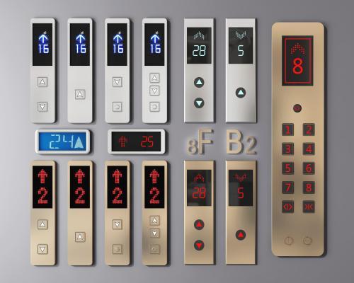 现代电梯开关 电梯按钮 电梯开关