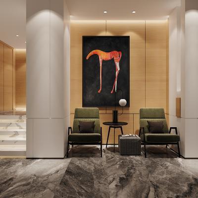 现代快捷酒店前厅