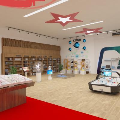 现代科技展厅 文化展厅 机器人展厅