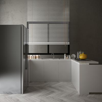 现代厨柜组合