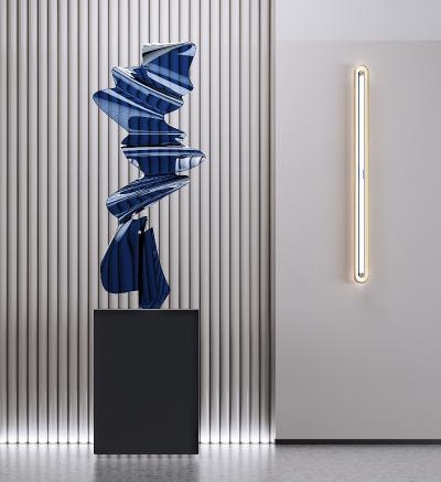 現代雕塑 壁燈