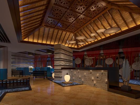 东南亚风情茶馆
