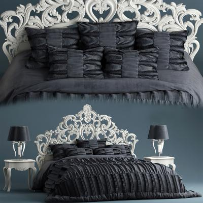 美式双人床