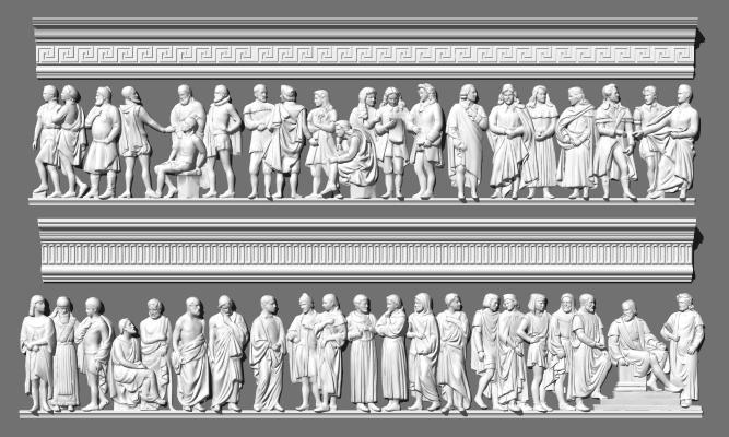 欧式浮雕 雕花 角线