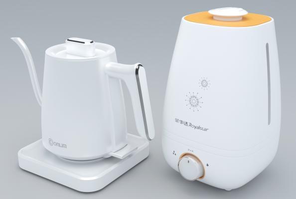 现代空气加湿器 电热水壶