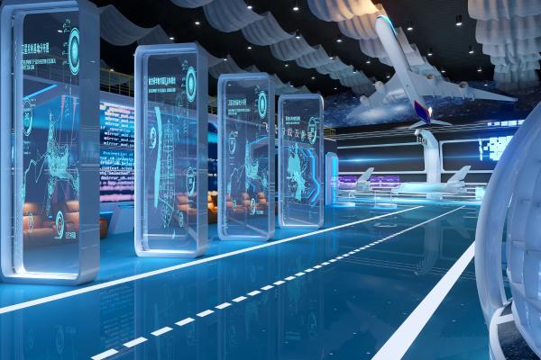 现代科技航空展厅展馆