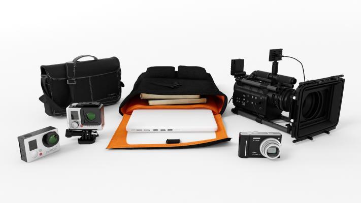 现代摄像机 摄影机 照相机