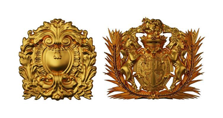 欧式雕花 浮雕 装饰品 构件