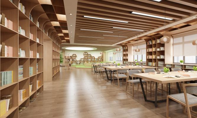 現代學校圖書館