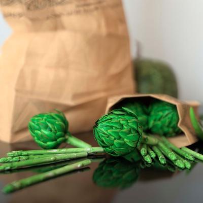 现代蔬菜 食品袋 购物袋