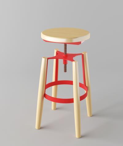 工业风吧椅餐椅