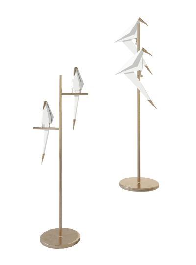 现代金属小鸟落地灯,台灯,创意灯具 ,动物落地灯