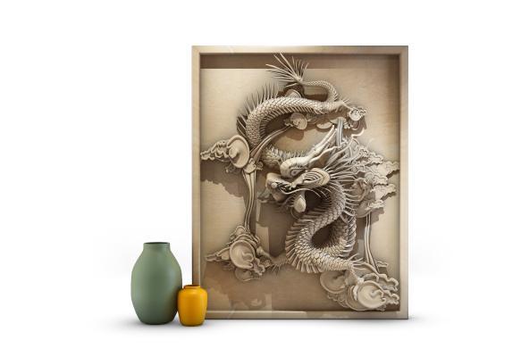 中式装饰摆件饰品 时尚 简约