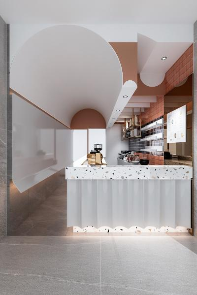 现代奶茶店 咖啡店 冷饮店