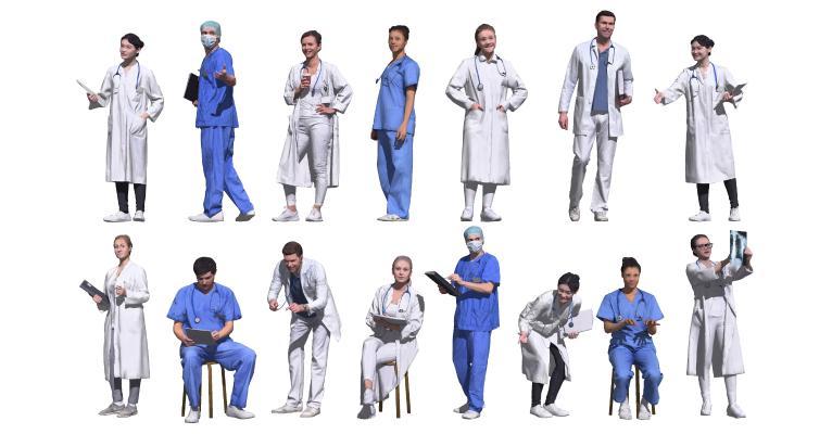 现代医生 护士 大夫