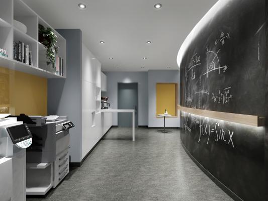 现代办公室 茶水间