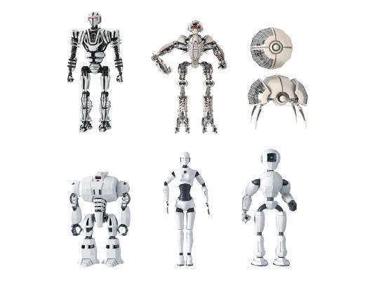 现代器机人玩具
