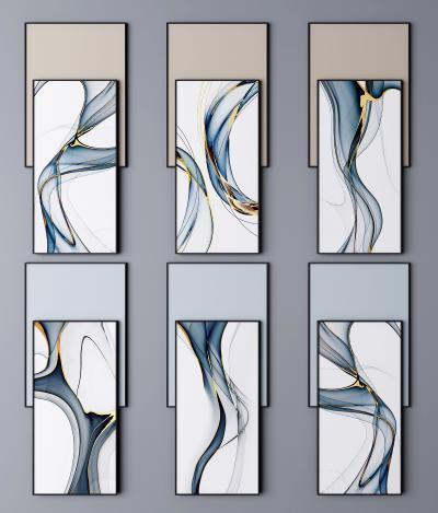 现代挂画 装饰画 抽象画 艺术画
