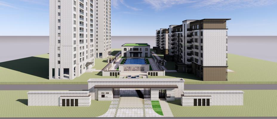 現代多層住宅